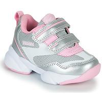 鞋子 女孩 球鞋基本款 Primigi SUZZI 银灰色 / 玫瑰色