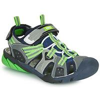 鞋子 男孩 运动凉鞋 Primigi ANATI 灰色 / 绿色