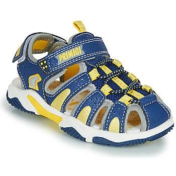 鞋子 男孩 运动凉鞋 Primigi ISMAEL 蓝色 / 黄色