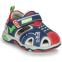 鞋子 男孩 运动凉鞋 Primigi ANIS 蓝色 / 红色 / 绿色