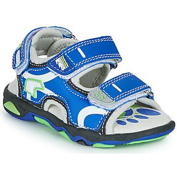 鞋子 男孩 凉鞋 Primigi YANIS 蓝色 / 绿色
