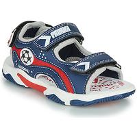 鞋子 男孩 凉鞋 Primigi MATHIS 海蓝色 / 红色