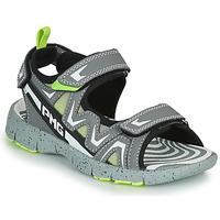 鞋子 男孩 凉鞋 Primigi MATEO 灰色 / 绿色