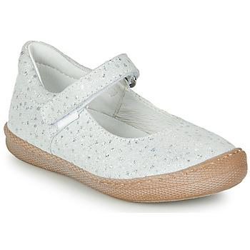 鞋子 女孩 平底鞋 Primigi BIANCA 白色 / Irisé