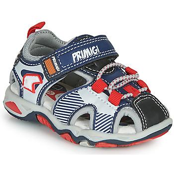 鞋子 男孩 运动凉鞋 Primigi HIMAN 灰色 / 蓝色 / 红色