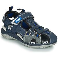 鞋子 男孩 运动凉鞋 Primigi SIXTINE 海蓝色 / 灰色