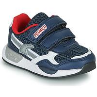 鞋子 男孩 球鞋基本款 Primigi PETIT 海蓝色 / 红色