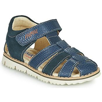 鞋子 男孩 凉鞋 Primigi PIETRA 海蓝色
