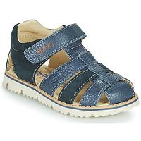 鞋子 男孩 凉鞋 Primigi PIETRA 蓝色