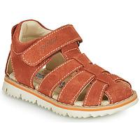 鞋子 男孩 凉鞋 Primigi KANNI 棕色