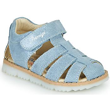 鞋子 男孩 凉鞋 Primigi MANI 蓝色