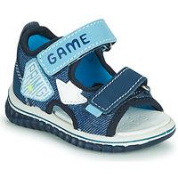 鞋子 男孩 凉鞋 Primigi FOUTTA 蓝色