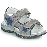 鞋子 男孩 凉鞋 Primigi GRIMMI 灰色 / 蓝色