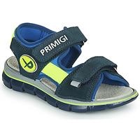 鞋子 男孩 凉鞋 Primigi MARINEL 蓝色
