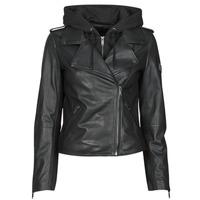 衣服 女士 皮夹克/ 人造皮革夹克 Ikks BS48015-02 黑色