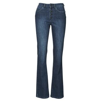 衣服 女士 喇叭牛仔裤 Ikks BS29135-45 Night / 蓝色