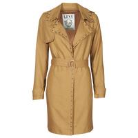 衣服 女士 风衣 Ikks BS42025-63 浅棕色