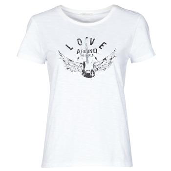 衣服 女士 短袖体恤 Ikks BS10185-11 浅米色
