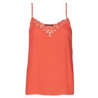 衣服 女士 无领短袖套衫/无袖T恤 Ikks BS11195-36 红色