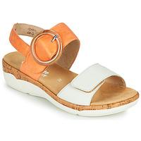 鞋子 女士 凉鞋 Remonte ORAN 橙色 / 白色