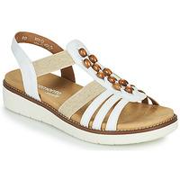 鞋子 女士 凉鞋 Remonte GRISSA 白色 / 灰色