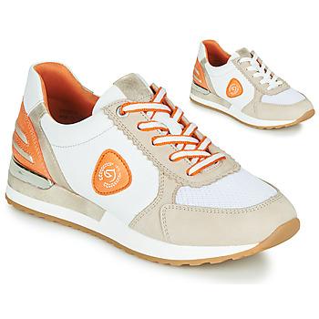 鞋子 女士 球鞋基本款 Remonte POLLUX 白色 / 灰色 / 橙色