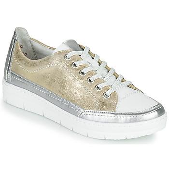 鞋子 女士 球鞋基本款 Remonte PHILLA 金色 / 银灰色