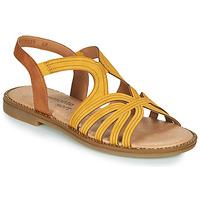 鞋子 女士 凉鞋 Remonte SANDA 黄色 / 棕色