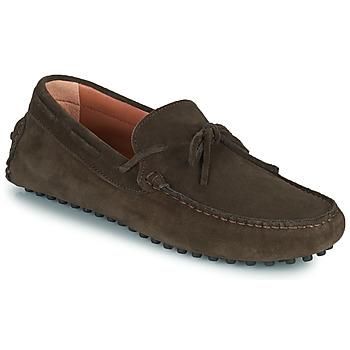 鞋子 男士 皮便鞋 Casual Attitude ODILON 棕色