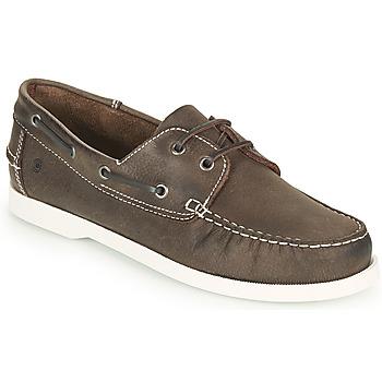 鞋子 男士 船鞋 Casual Attitude REVORO 棕色