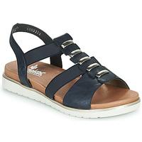 鞋子 女士 凉鞋 Rieker 瑞克尔 NINNA 蓝色