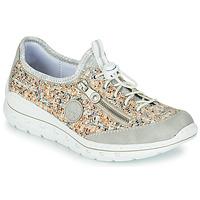 鞋子 女士 球鞋基本款 Rieker 瑞克尔 GRISSA 灰色 / 多彩
