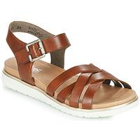 鞋子 女士 凉鞋 Rieker 瑞克尔 NORRA 棕色