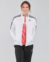 衣服 女士 运动款外套 adidas Performance 阿迪达斯运动训练 MARATHON JKT W 白色