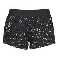 衣服 女士 短裤&百慕大短裤 adidas Performance 阿迪达斯运动训练 W WIN Short 黑色