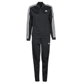 衣服 女士 厚套装 adidas Performance 阿迪达斯运动训练 W 3S TR TS 黑色
