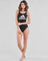 衣服 女士 单件泳装 adidas Performance 阿迪达斯运动训练 SH3.RO BOS S 黑色