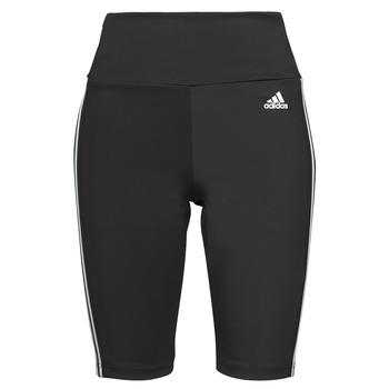 衣服 女士 紧身裤 adidas Performance 阿迪达斯运动训练 W 3S SH TIG 黑色