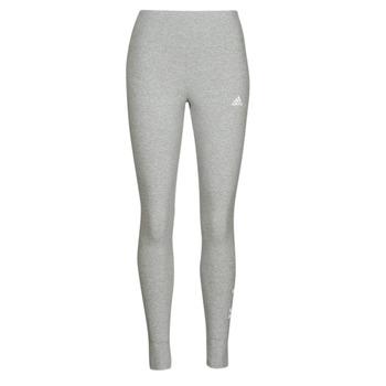 衣服 女士 紧身裤 adidas Performance 阿迪达斯运动训练 W LIN LEG 灰色