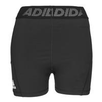 衣服 女士 短裤&百慕大短裤 adidas Performance 阿迪达斯运动训练 TF SHRT 3 BAR T 黑色