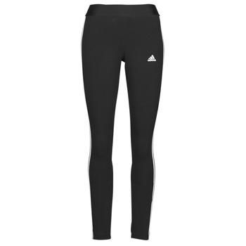 衣服 女士 紧身裤 adidas Performance 阿迪达斯运动训练 W 3S LEG 黑色