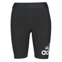 衣服 女士 紧身裤 adidas Performance 阿迪达斯运动训练 SUMsportSHORT W 黑色