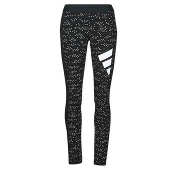 衣服 女士 紧身裤 adidas Performance 阿迪达斯运动训练 W WIN TIGHT 黑色