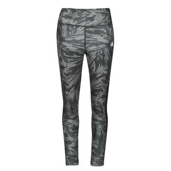 衣服 女士 紧身裤 adidas Performance 阿迪达斯运动训练 W UFORU 78 TIG 黑色