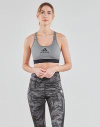 衣服 女士 文胸 adidas Performance 阿迪达斯运动训练 DRST ASK BRA 灰色