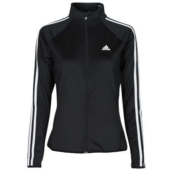 衣服 女士 运动款外套 adidas Performance 阿迪达斯运动训练 W 3S TJ 黑色