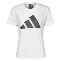 衣服 女士 短袖体恤 adidas Performance 阿迪达斯运动训练 W WIN 2.0 TEE 白色