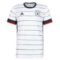 衣服 男士 短袖体恤 adidas Performance 阿迪达斯运动训练 DFB H JSY 白色
