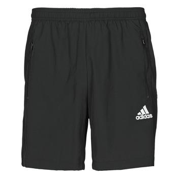 衣服 男士 短裤&百慕大短裤 adidas Performance 阿迪达斯运动训练 M WV SHO 黑色
