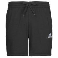 衣服 男士 短裤&百慕大短裤 adidas Performance 阿迪达斯运动训练 M 3S FT SHO 黑色